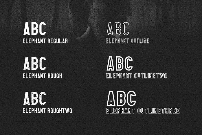 Elephant Font-1