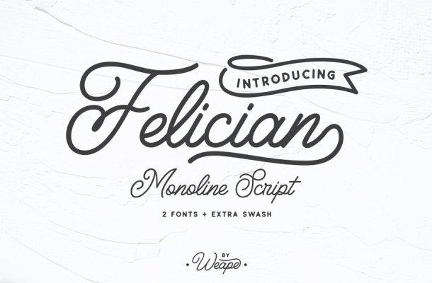 Felician Script Font