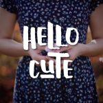 Hello Cute Typeface