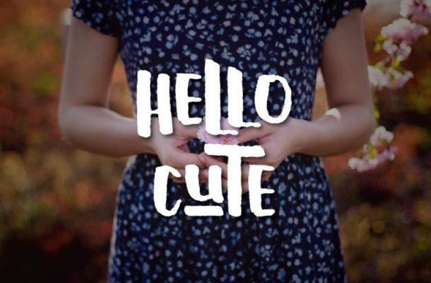 Hello Cute Typeface