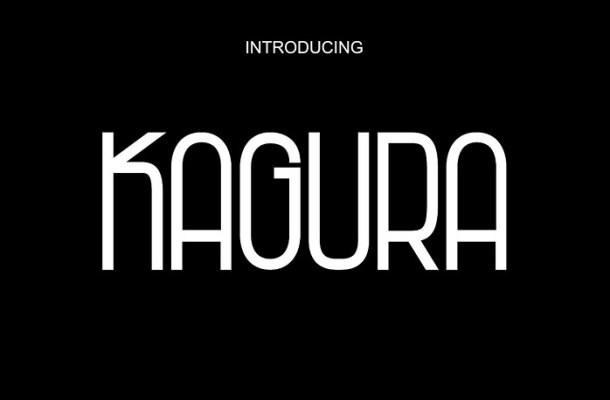 Kagura Sans Serif Font