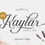 Kaylar Script Font