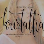 Kristallian Script Font