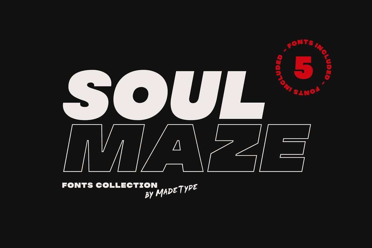 MADE Soulmaze Font