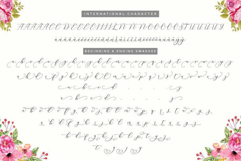 Melinda Script Font-2