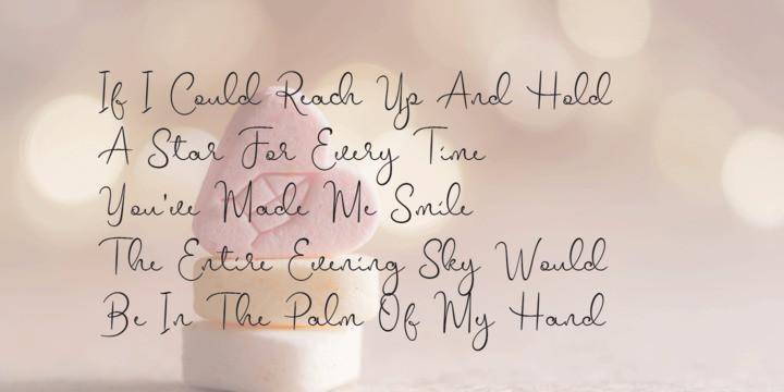 Mellinde Handwritten Font-2