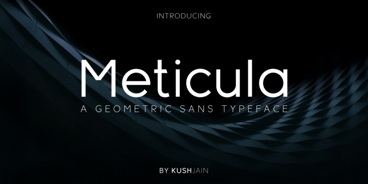 Meticula Font Family