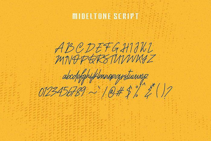 Mideltone Font Duo-1
