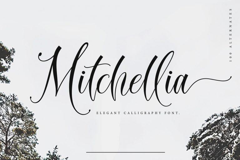 Mitchellia Script Font