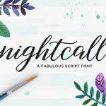 Nightcall Script Font