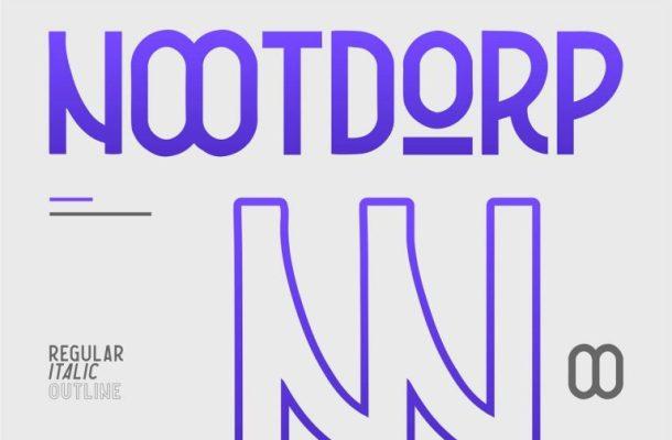 Nootdorp Typeface