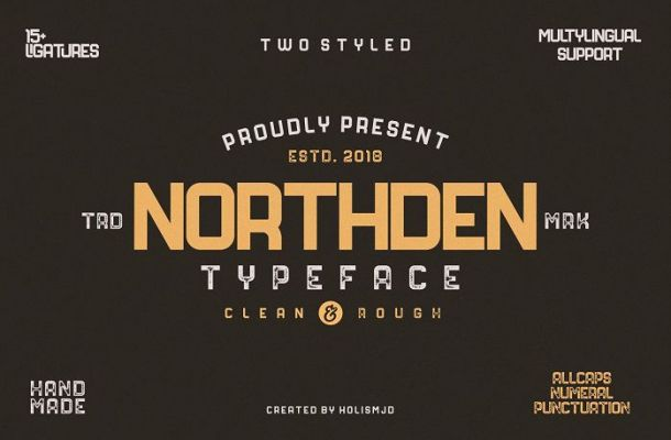 Northden Typeface