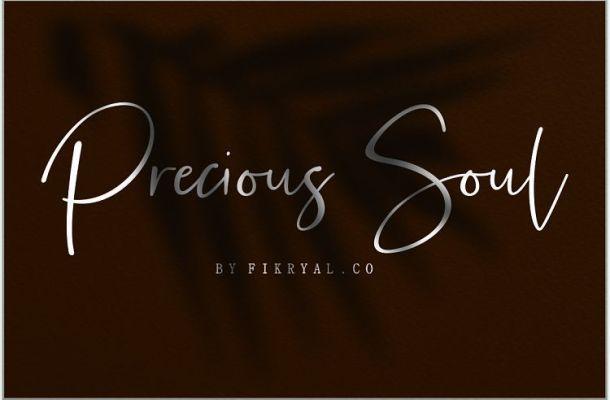 Precious Soul Script Font