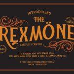REXMONE Typeface