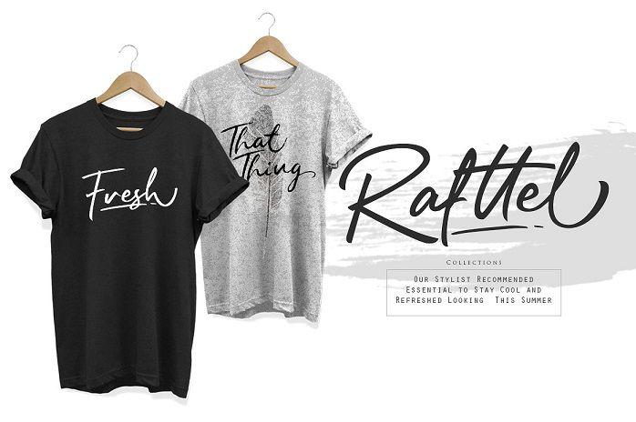 Rafttel Script Font-2