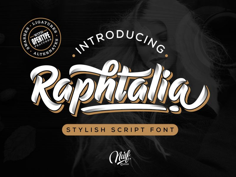 Raphtalia Script Font