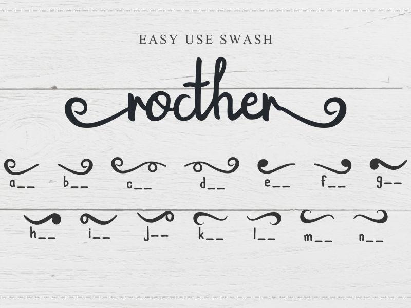 Rocther Script Font-2