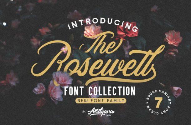 Rosewell Script Font