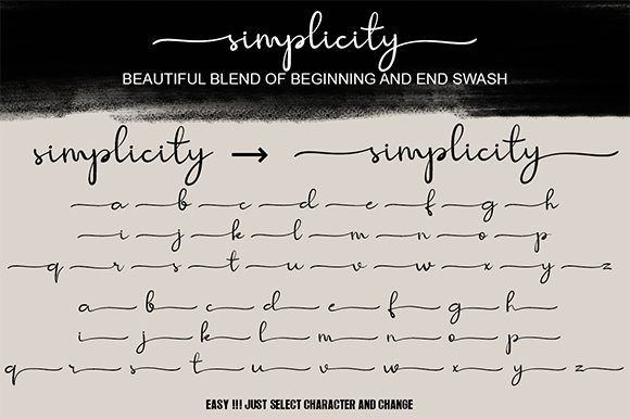 Simplicity Font-1