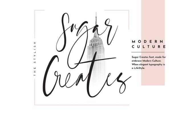 Sugar Creates Script Font