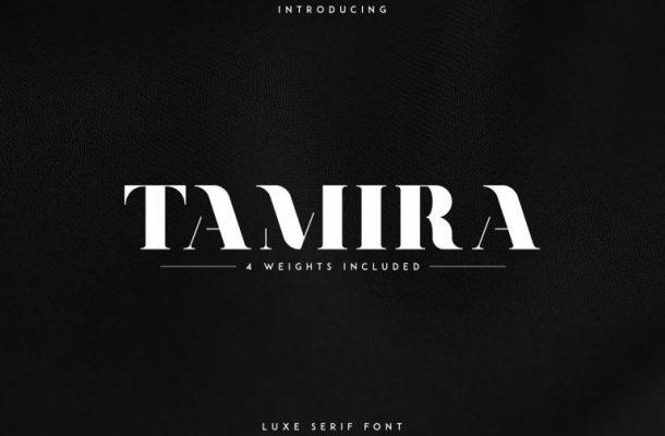 Tamira Typeface
