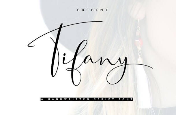 Tifany Script Font
