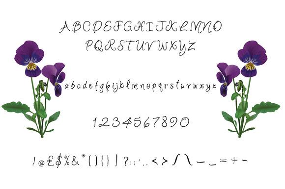 Violet Bee Font-2