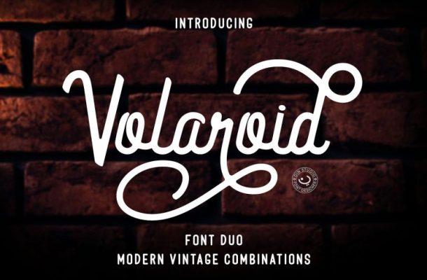 Volaroid Font Duo