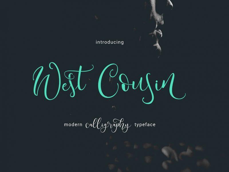 West Cousin Script Font