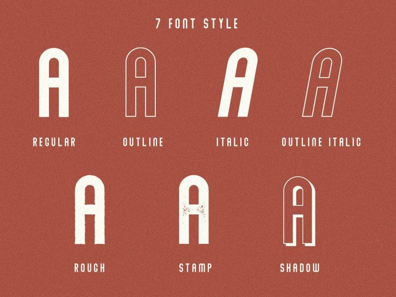 Abraham Font Family-2