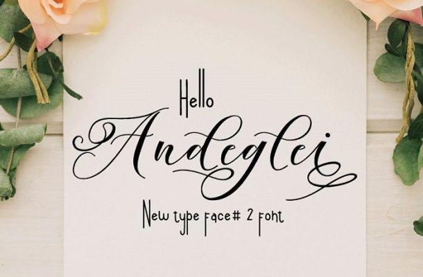 Andeglei Font Duo