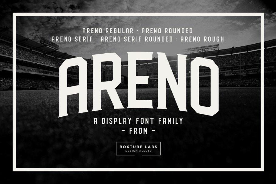 Areno Font Family