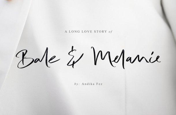 Bale & Melanie Script Font