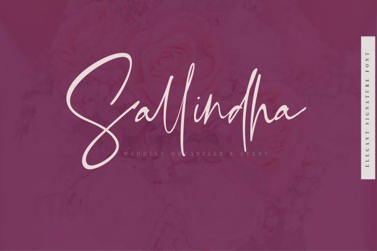 Bellandha Signature Script Font-3