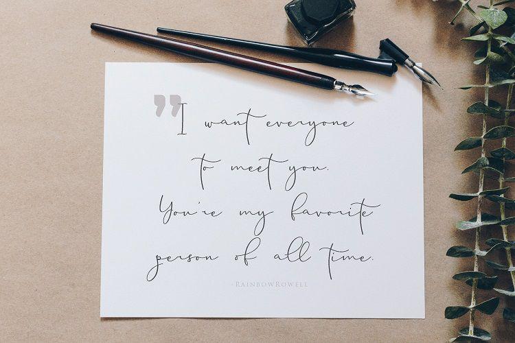 Brittaney Script Font-3