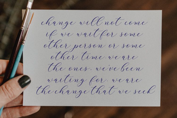 Clover Calligraphy Font-4
