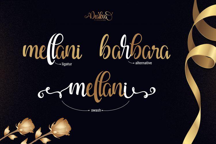 Dealova Script Font-2
