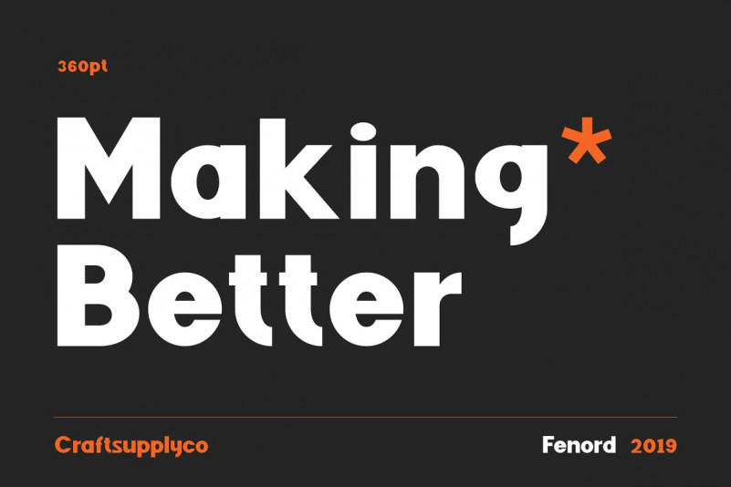Fenord Sans Serif Font-3