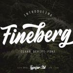 Fineberg Script Font