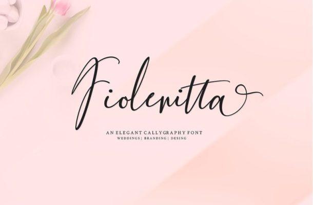 Fiolenitta Script Font