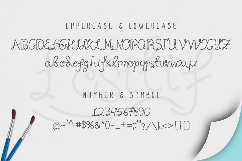 Fositif Fancy Happy Font-2