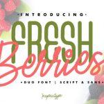 Fresh Berries Font Duo