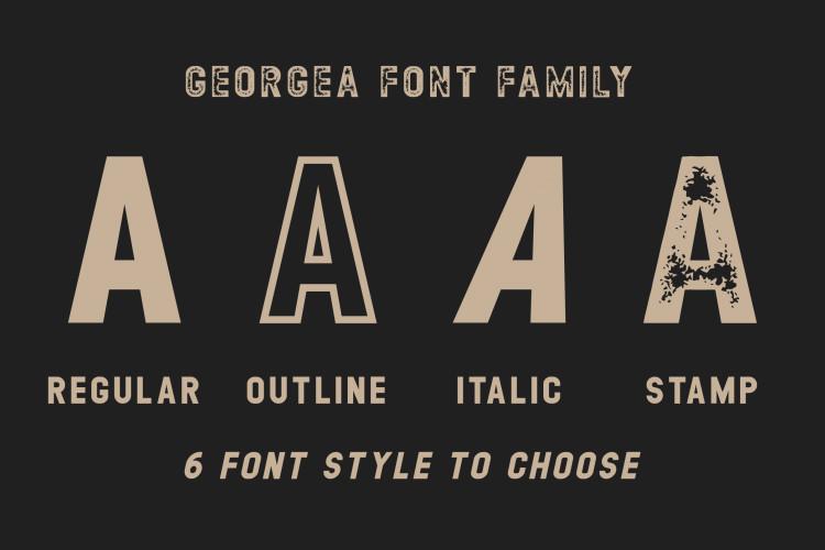 GEORGEA Typeface-2