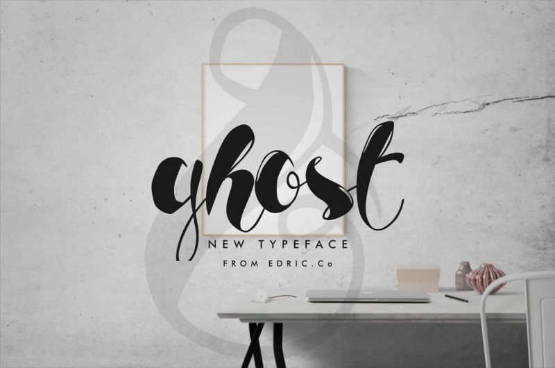 Ghost Calligraphy Font
