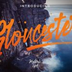 Gloucester Brush Font