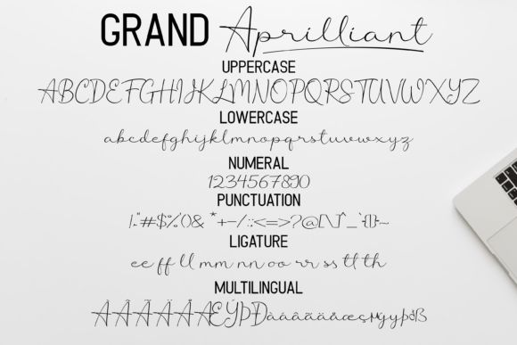 Grand Aprilliant Font Duo-3
