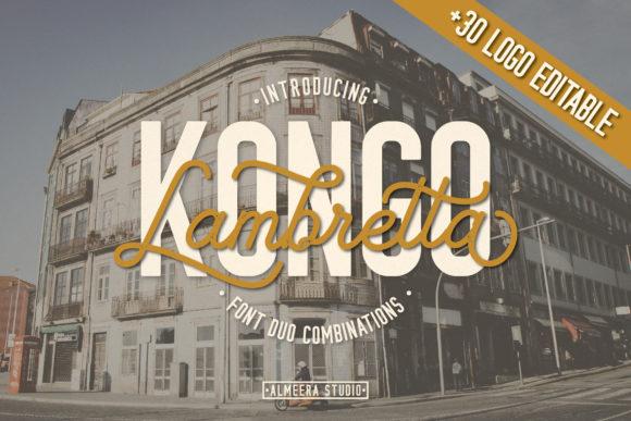 Lambretta Kongo Font Duo