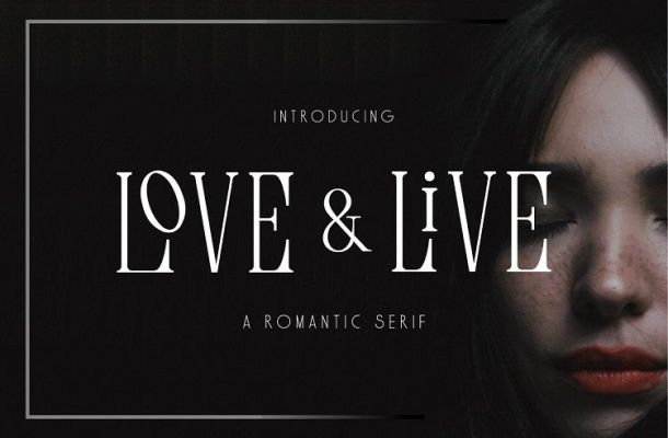 Love & Live Typeface