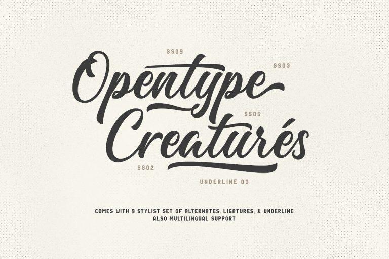 Majestika Brush Script Font-2