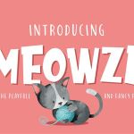 Meowza Playfull and Fancy Font